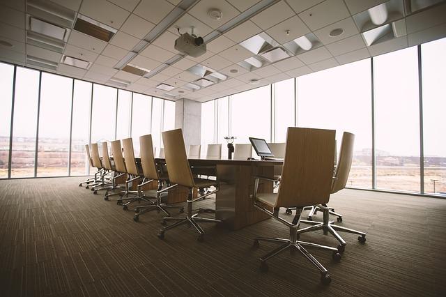 Ruang Rapat Terbuka Minimalis