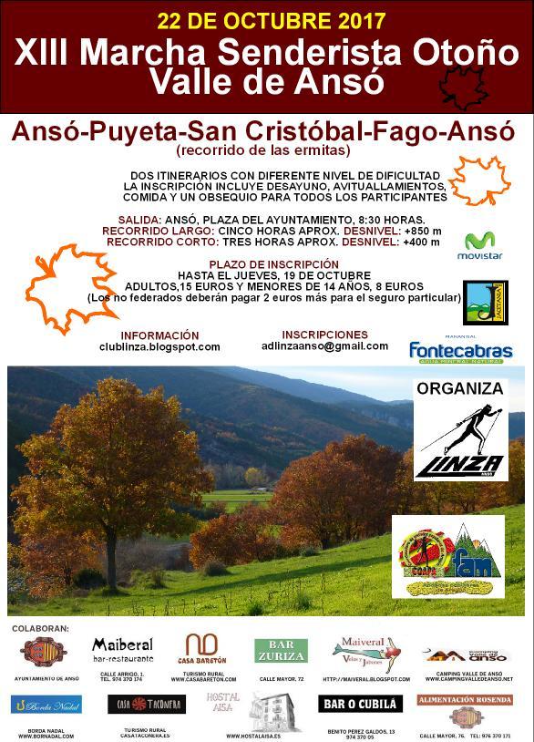 "XIII Marcha Senderista ""Otoño"" Valle de Ansó"