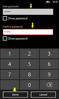 Adding password to Lock Screen
