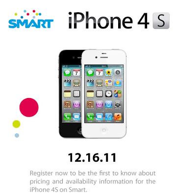 Official! SMART iPhone 4S via Postpaid Plans