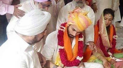 Shahid Kapoor & Mira Rajput Wedding Photo