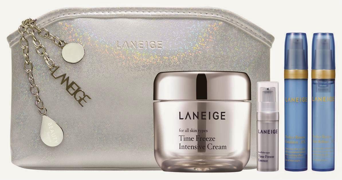 Laneige Sparkling Youth Restoring Essentials, Gift Set, Laneige 2014 Holiday Collection, Laneige, Holiday Set, Christmas Set, Skincare, Makeup, Beauty