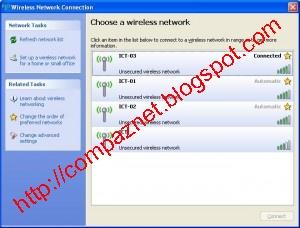 Cara Koneksi Internet Wi-Fi Windows XP & 7