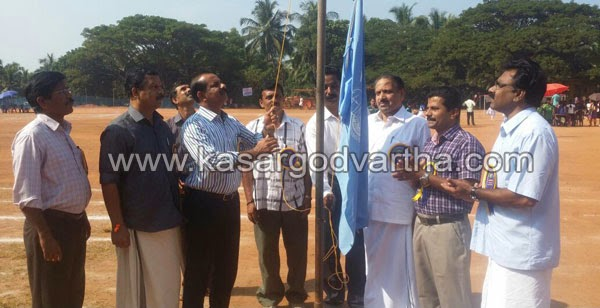 Kerala State Schools 3rd group 58th games, Volley Ball, Lawn Tennis, Ball Badminton, Chess, Cricket, Thalipadappu Maidan, Kasaragod, Kerala, Inauguration, T.E. Abdulla