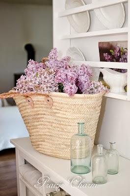 Lilacs and an oil painting / Orgován a olejová maľba