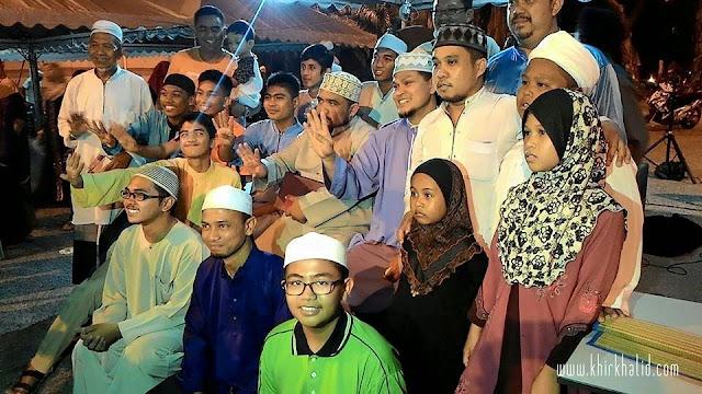 Ustaz Abdullah Khairi dan Ustaz Haslin Bollywood