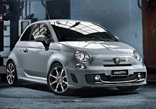 Abarth 500 (2013) Front Side