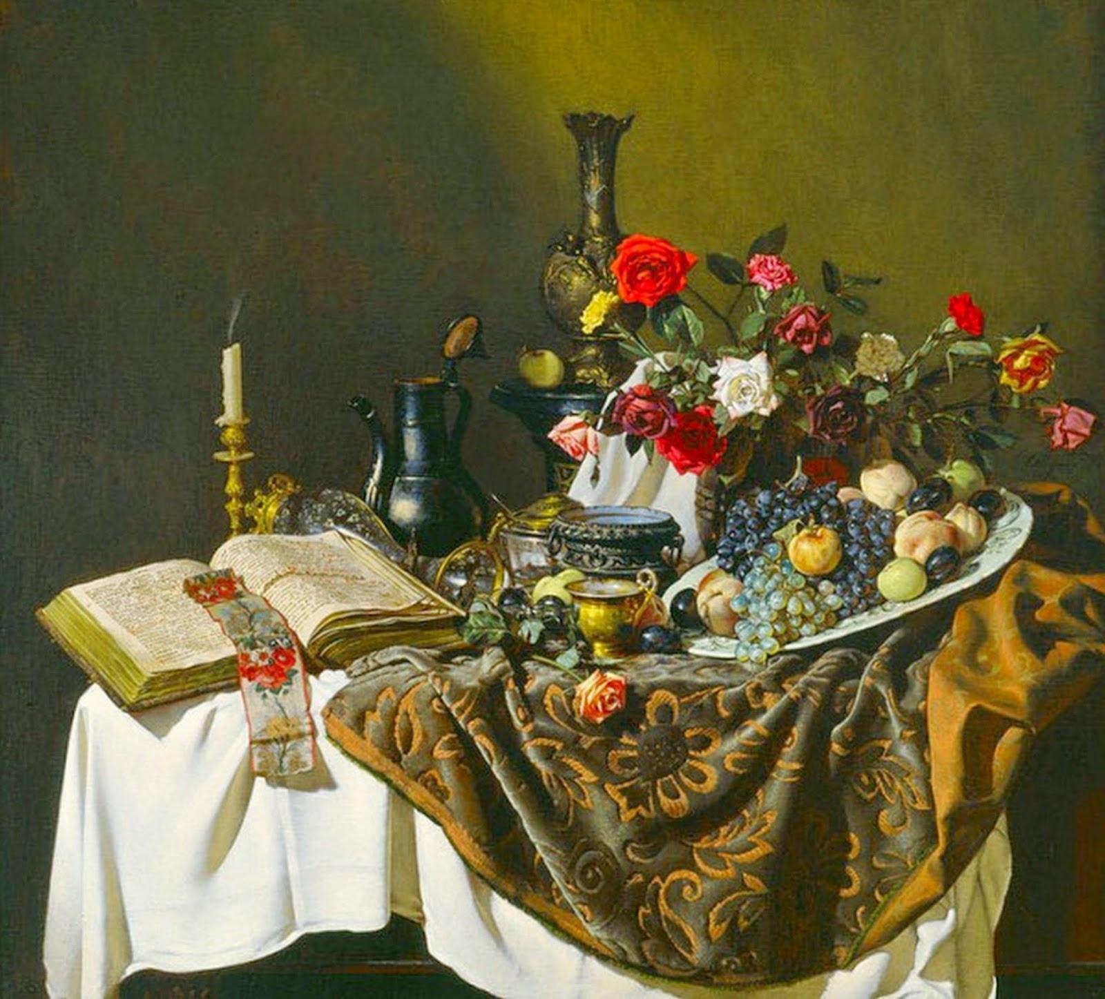 pinturas-bodegones-clasicos-al-oleo
