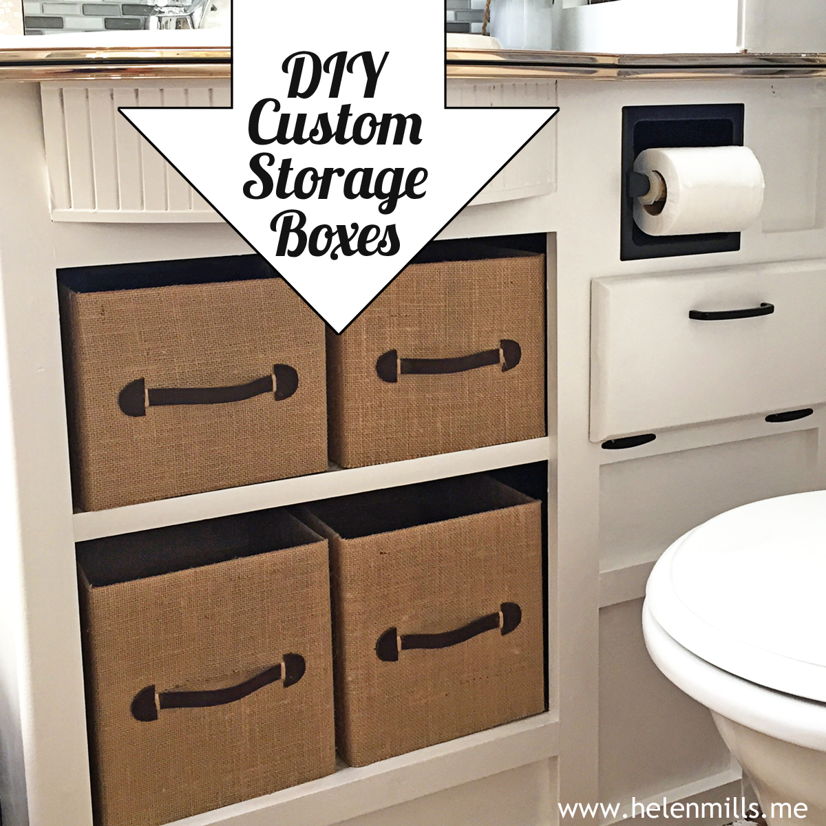 DIY Custom Decorative Storage Boxes