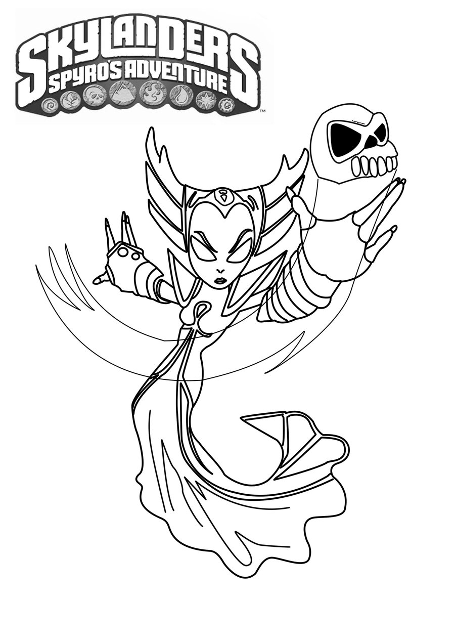 skylanders coloring pages ignitor pertronix - photo#16