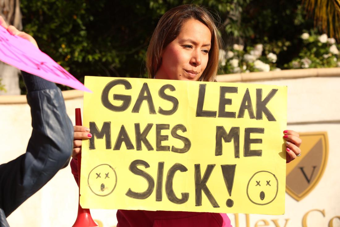 More leaks reported by The Southern California Gas Co a spokeswoman for the 'Save Porter Ranch' rev
