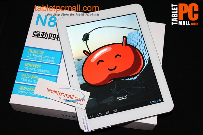 classy, vido n80 quad core rk yuandao rk3188 tablet 8 inch ips 2go ram 16go android 4 1 hdmi dual cam became fitness