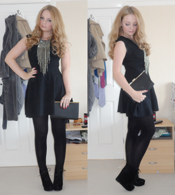OOTD Little Black Dress