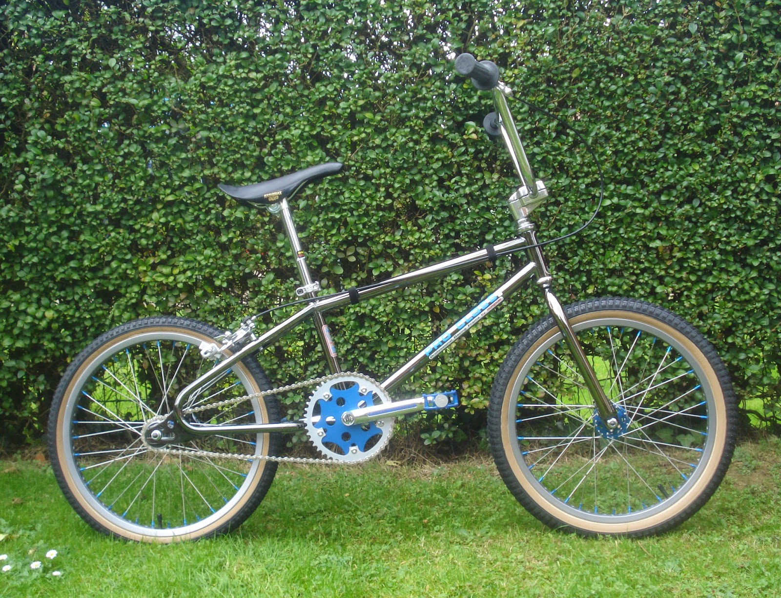 BMX BIKE OLD SCHOOL VINTAGE HANDLEBAR BAR CHROME