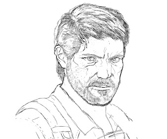 #14 The Last of Us Coloring Page