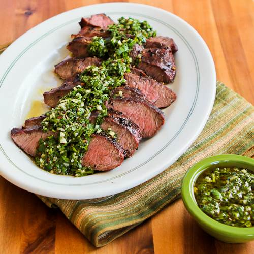 chimichurri steak chimichurri steak and chimichurri sandwiches flank ...