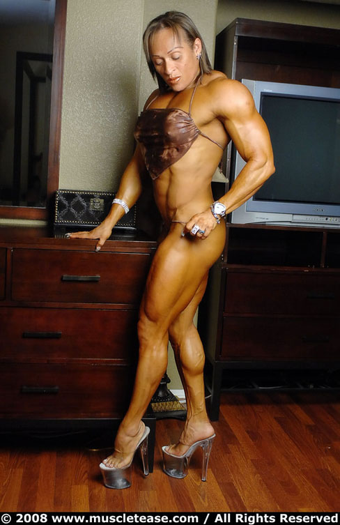 Betty Viana-Adkins Female Muscle Bodybuilding Blog Fitness