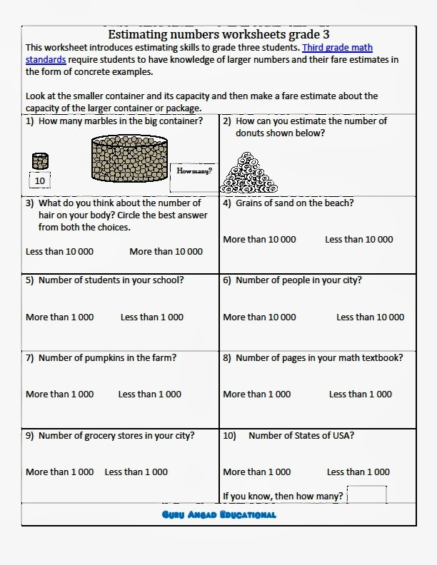 Worksheet 612792 Estimation Math Worksheets Estimation – Estimation Addition Worksheets