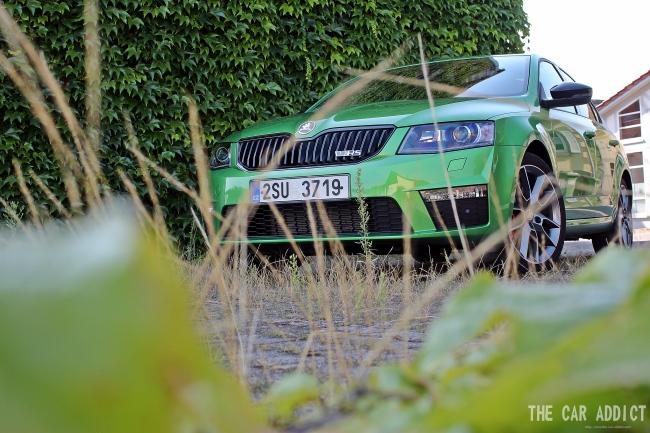 Skoda Octavia RS 2.0 TDI Green tec