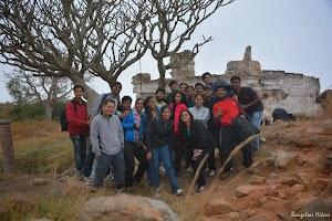 Group photo - Makalidurga hill top