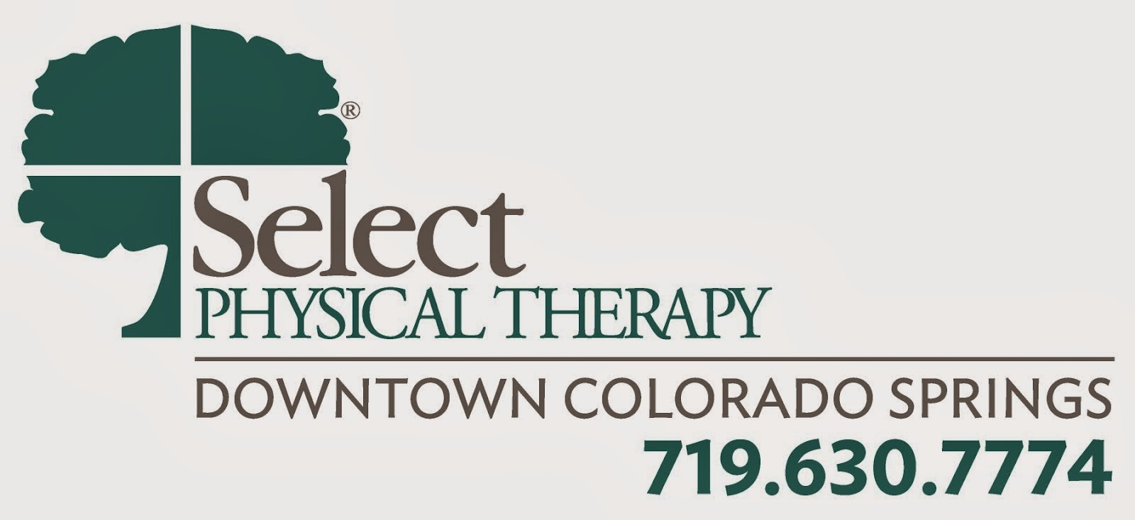 Select PT is located at 15 S Weber St in Downtown Colorado Springs