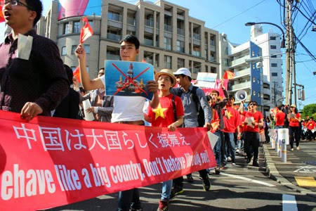 Overseas Vietnamese protest China's violations of sovereignty