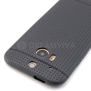Black Ultra Thin Soft TPU Gel Matte Cover Case Skin For HTC One M8