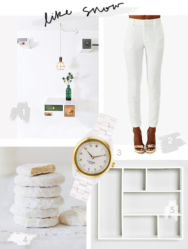 white as snow from fashion to food to decor