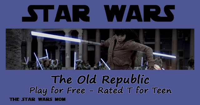 Star Wars The Old Republic Game Play for Free