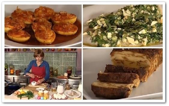 онлайн видео урок Как приготовить пряные, маринованные яйца, пудинг, соус