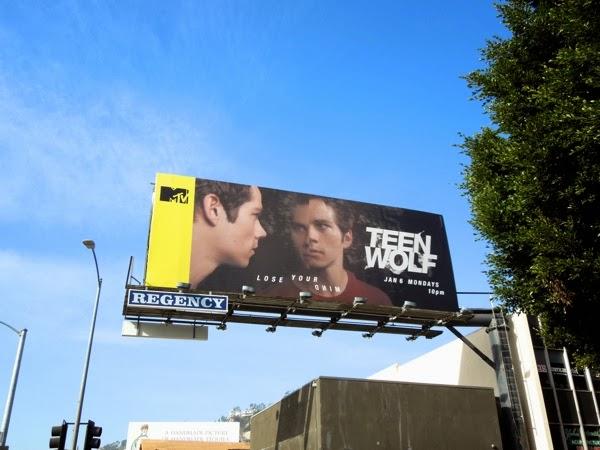 Teen Wolf Lose your mind Stiles billboard
