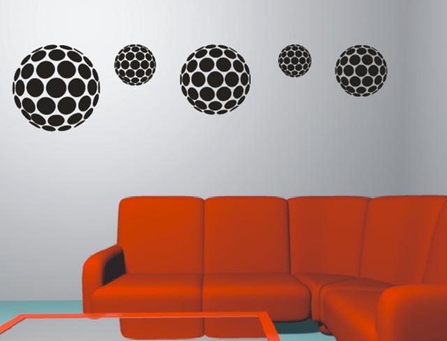 Adesivos decorativos de parede e decora o de casas for Articulos decorativos para casa