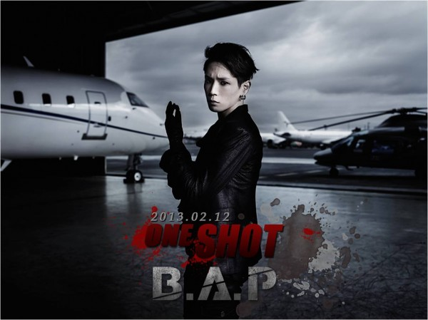 B.A.P One Shot mv photo teaser Himchan