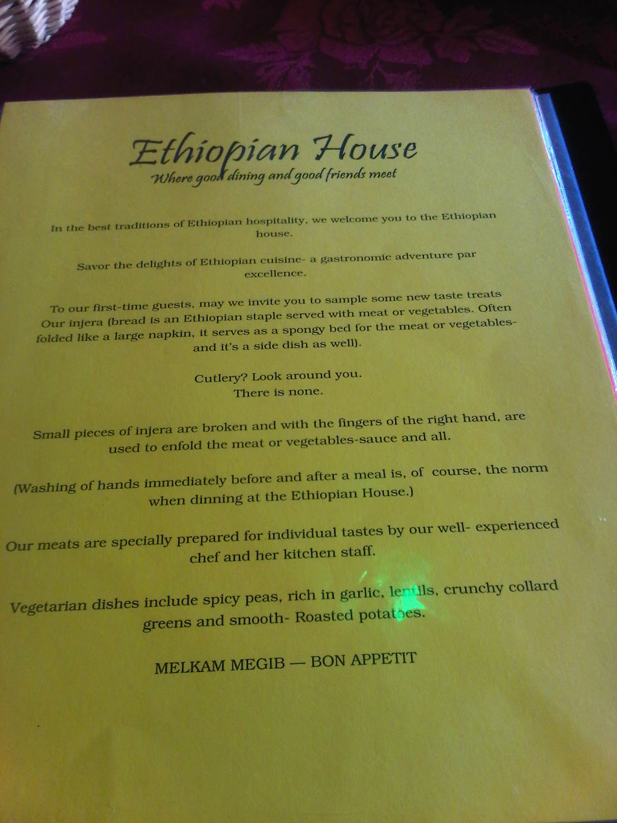The Ethiopian House Refused To Give Us Cutlery And We Loved It