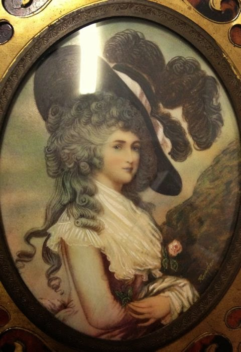 18th/19th century portrait miniature by Renner