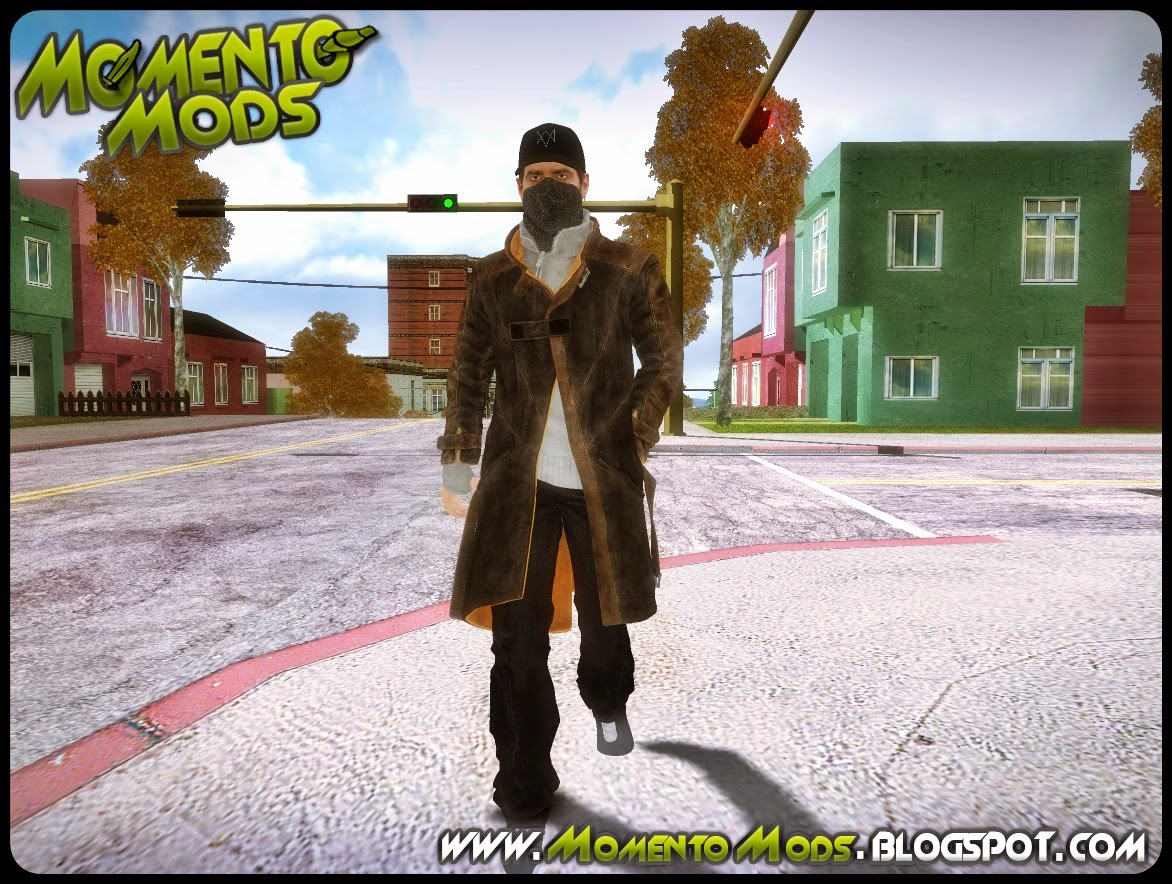 GTA SA - Animação Aiden Pearce Watch Dogs V1.0