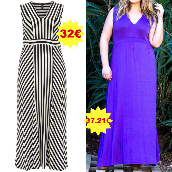 maxidress plus size in saldo