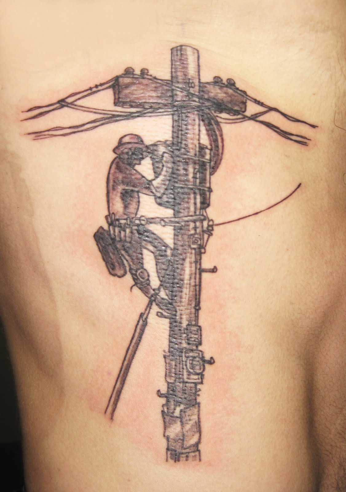 Lineman Tattoo Designs