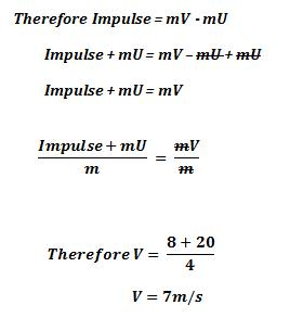 impulse calculations and definitions science decoder