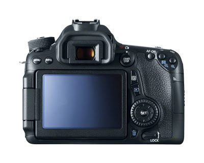 Canon EOS 70D - back view