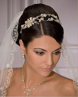 wedding veils tiaras pictures