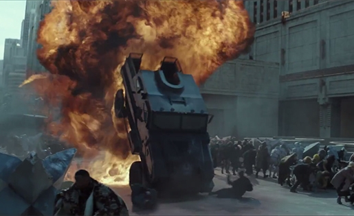 The Hunger Games: Mockingjay Part2 Bluray Screenshot