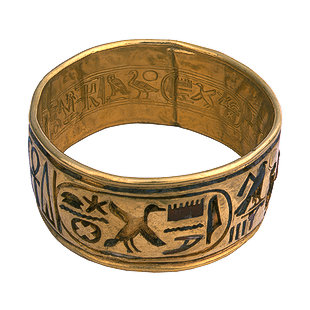 Egyptian Tomb Rings