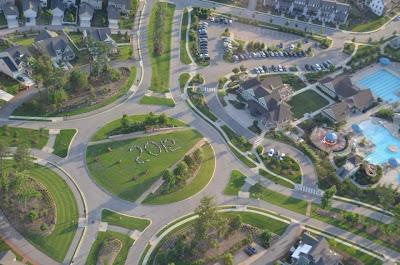 CHS Celebrates Graduation at Briar Chapel – Aerial Style