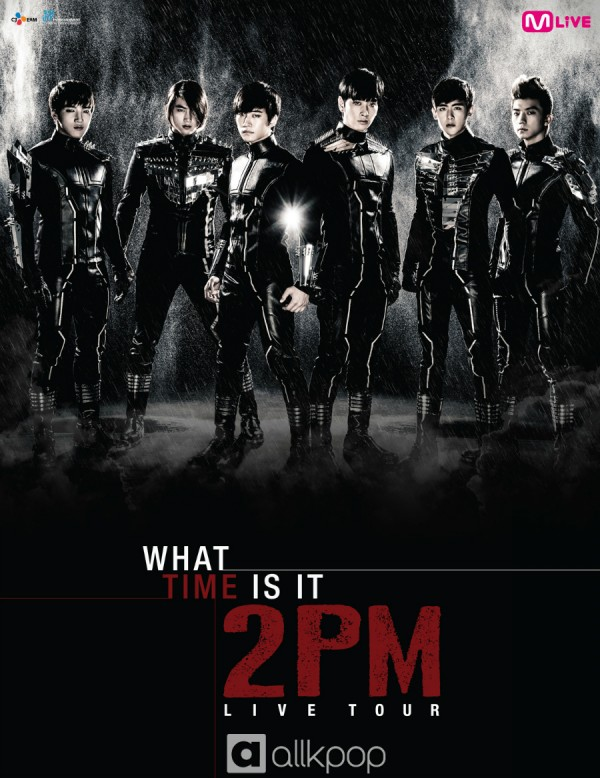Whats Time Is It 2PM Live Tour