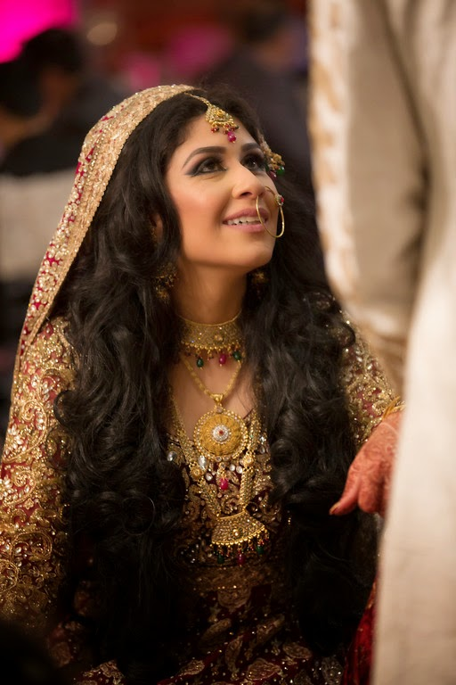 south asian wedding, bride