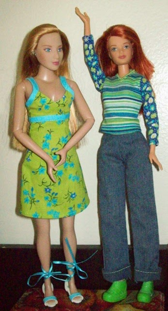 YNU Group Inc. Sunset Edition Mixis Houda and Mattel Surf City Midge