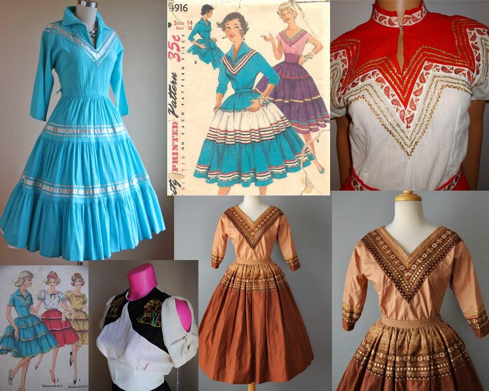 ClaireSanders.net: Fiesta Dress Sketches