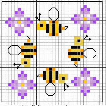 Colazione almanacco e punto croce di zia michela il for Punto croce schemi facili