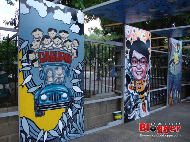 Dagupan City Bangus Festival 2012 Art Walk